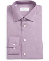 Eton Contemporary Fit Woven Dress Shirt