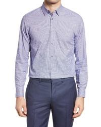 Ted Baker London Cotton Blend Dress Shirt