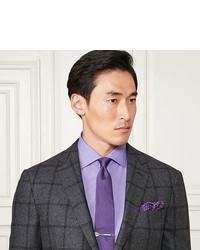Ralph Lauren Purple Label End On End Cotton Dress Shirt