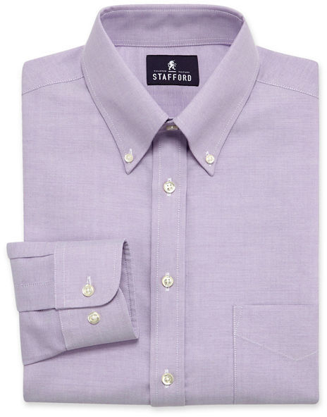 Jcpenney Stafford Travel Wrinkle Free Oxford Dress Shirt Where To Buy Amp How To Wear