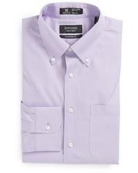 Nordstrom Shop Smartcare Traditional Fit Pinpoint Dress Shirt