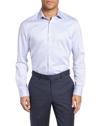 Ted Baker London Queenyy Trim Fit Solid Dress Shirt