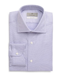 Canali Regular Fit Geo Non Iron Dress Shirt