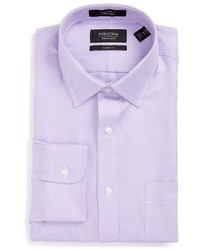 Nordstrom Shop Classic Fit Microgrid Dress Shirt