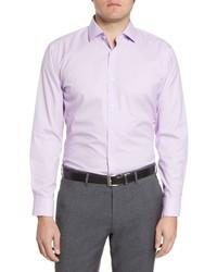 Nordstrom Men's Shop Trim Fit Non Iron Dot Dress Shirt