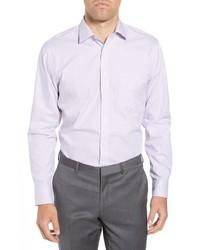 Nordstrom Men's Shop Trim Fit Non Iron Stripe Dress Shirt