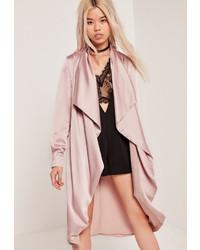 Light Violet Duster Coat
