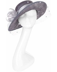 Siggi Feather Veiled Fascinator Hat
