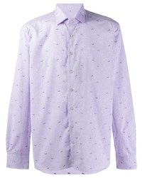 Etro Embroidered Butterfly Shirt