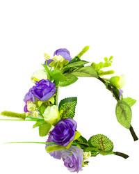 Light Violet Floral Headband
