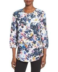 Petite henley blouse medium 1195858