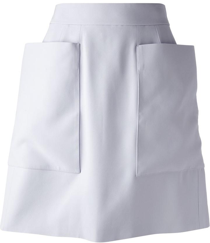 66b94a7536 Alexander McQueen Oversize Pocket Skirt, $1,075 | farfetch.com ...