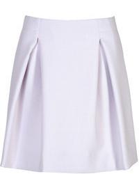 Jil Sander Cotton Blend A Line Skirt