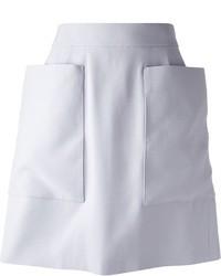 Alexander McQueen Oversize Pocket Skirt