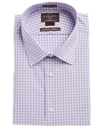 Black & Brown Black Brown Checked Dress Shirt