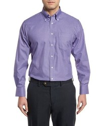 Nordstrom Men's Shop Traditional Fit Non Iron Gingham Dress Shirt