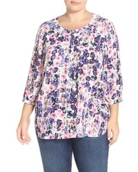 Plus size henley top medium 3746830