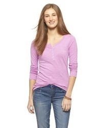 Mossimo Supply Co Long Sleeve Henley Shirt Supply Co