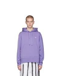 Acne Studios Purple Ferris Face Hoodie