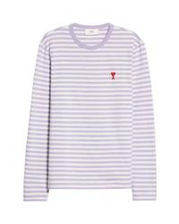AMI Alexandre Mattiussi Ami De Coeur Mariniere Stripe T Shirt