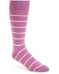 Peter Millar Stripe Crew Socks