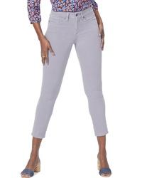 NYDJ Alina High Waist Ankle Jeans