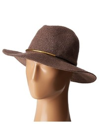 San Diego Hat Company Cth8077 Knit Fedora With Gold Trim Fedora Hats