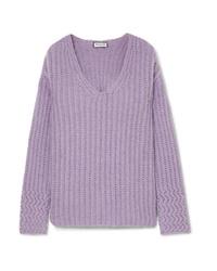 Paul & Joe Joris Oversized Ribbed Knit Sweater