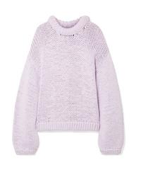 Tibi Oversized Cotton Blend Sweater