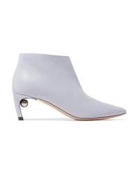 Nicholas Kirkwood Mira Leather Ankle Boots