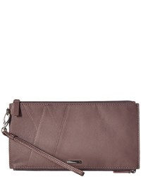Accessories mill valley under lock key kai double zip pouch with wristlet travel pouch medium 5072836