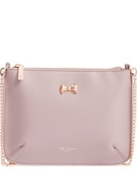 Ted Baker London Amalia Leather Crossbody Pouch Pink
