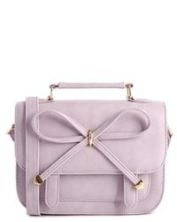 Asos Bow Satchel Bag Lilac
