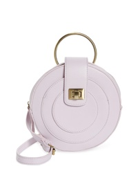 MALIBU SKYE Faux Leather Can Crossbody Bag