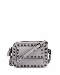Valentino Rockstud Small Flap Pocket Camera Crossbody Bag