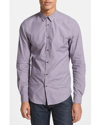 Light Violet Long Sleeve Shirt