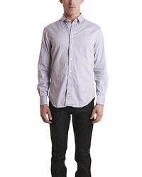 Blue & Cream Bluecream Lavender Pinpoint Shirt
