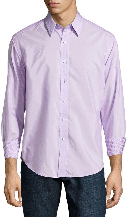 Lavender Long Sleeve Blouses