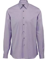 Prada Fitted Poplin Shirt