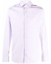 Z Zegna Long Sleeve Cotton Shirt