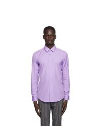 BOSS Purple Slim Fit Shirt