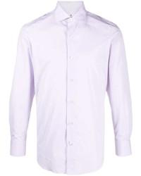 Finamore 1925 Napoli Slim Cut Button Shirt