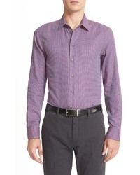 Slim fit mix weave sport shirt medium 826892