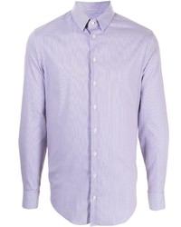 Giorgio Armani Stripe Print Cotton Shirt
