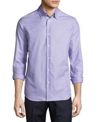 Neiman Marcus Tight Circle Sport Shirt Lilacpurple