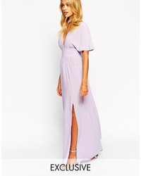 Light violet maxi dress original 8518036