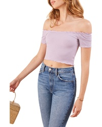 Reformation Willett Off The Shoulder Top
