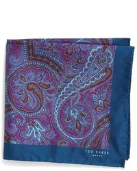 London dom paisley silk pocket square medium 800932