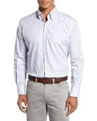 Peter Millar Regular Fit Yucatan Check Sport Shirt