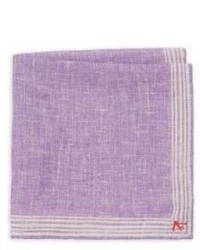 Isaia Linen Pocket Square